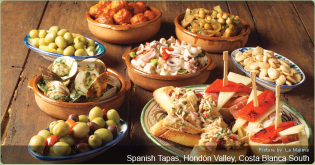 Eat Tapas in Hondon